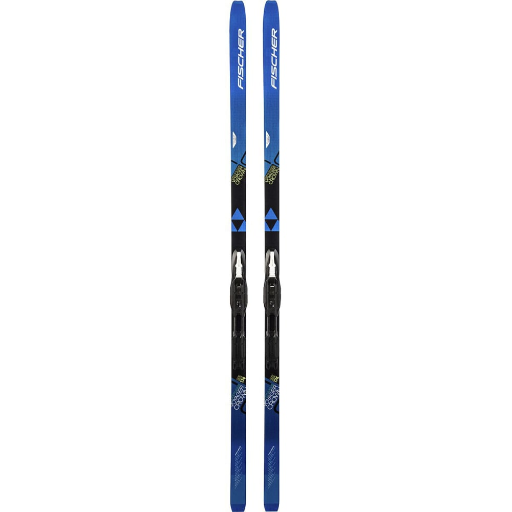 FISCHER Voyager EF Mounted Skis - NO COLOR