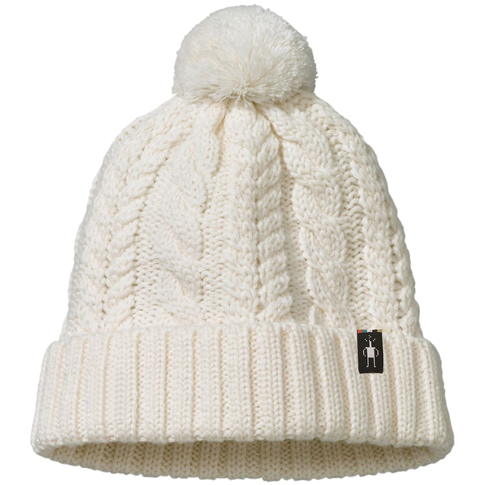 SMARTWOOL Women's Ski Town Hat - 100-NATURAL