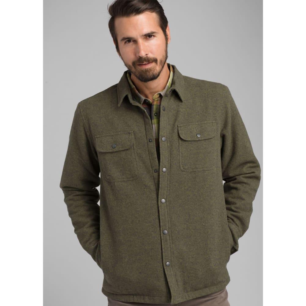 PRANA Men's Dock Flannel Jacket - VERT GREEN
