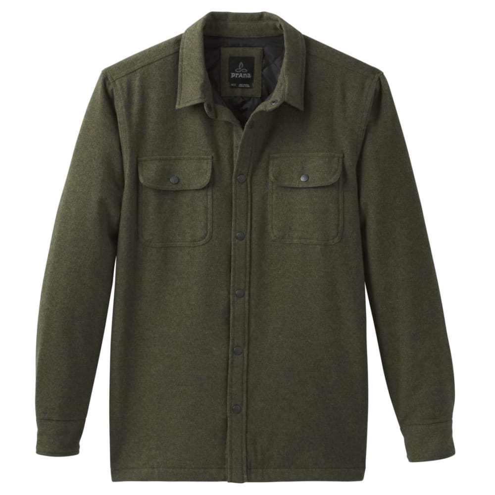 PRANA Men's Dock Flannel Jacket L