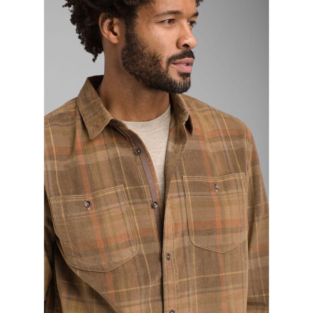 PRANA Men's Dooley Long-Sleeve Shirt - BED ROCK