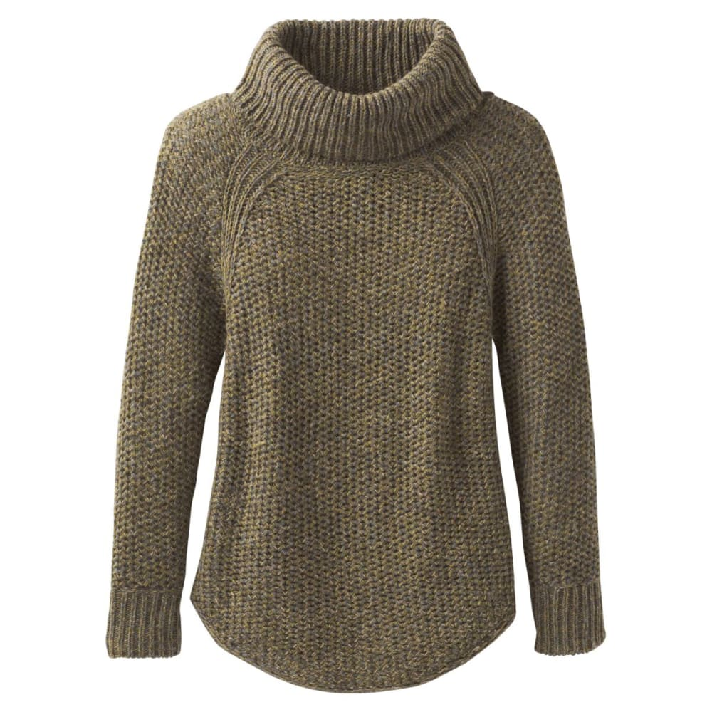 PRANA Women's Calliso Sweater - RYE GREEN