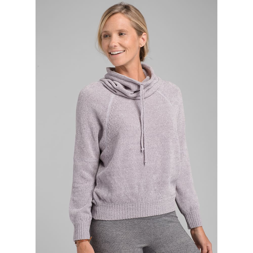 PRANA Women's Auberon Sweater - MOONSTONE