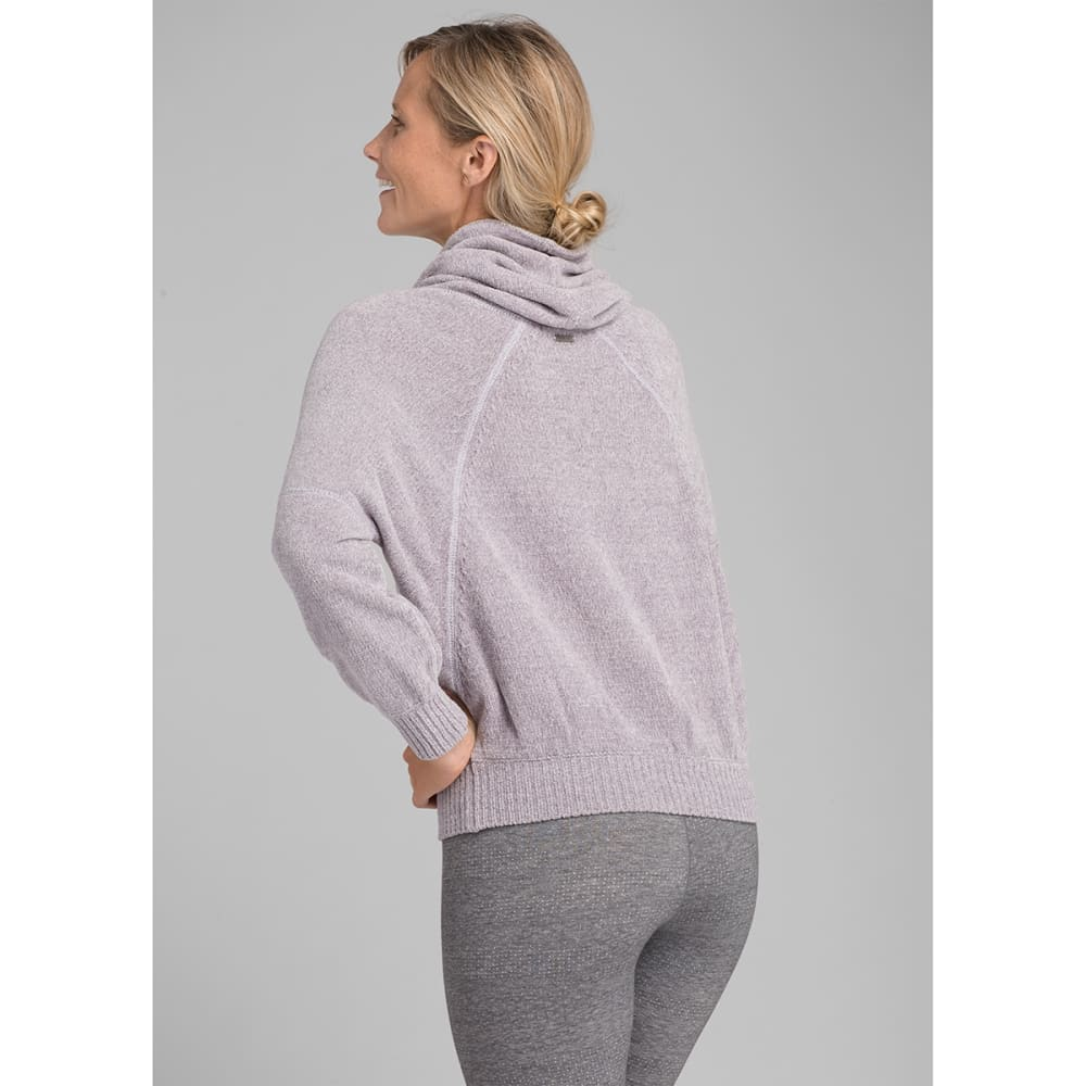 PRANA Women's Auberon Sweater - MOONSTONE