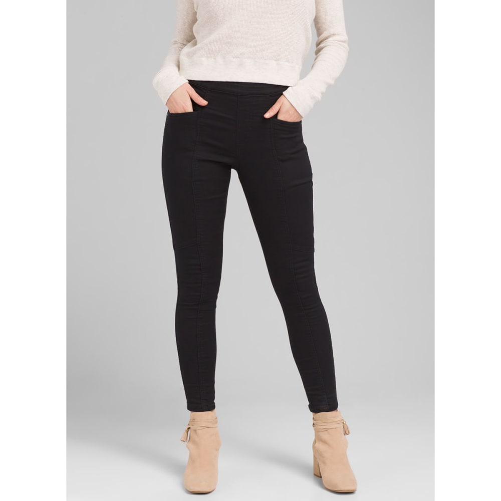 PRANA Women's Jordy Legging - BLACK HEATHER
