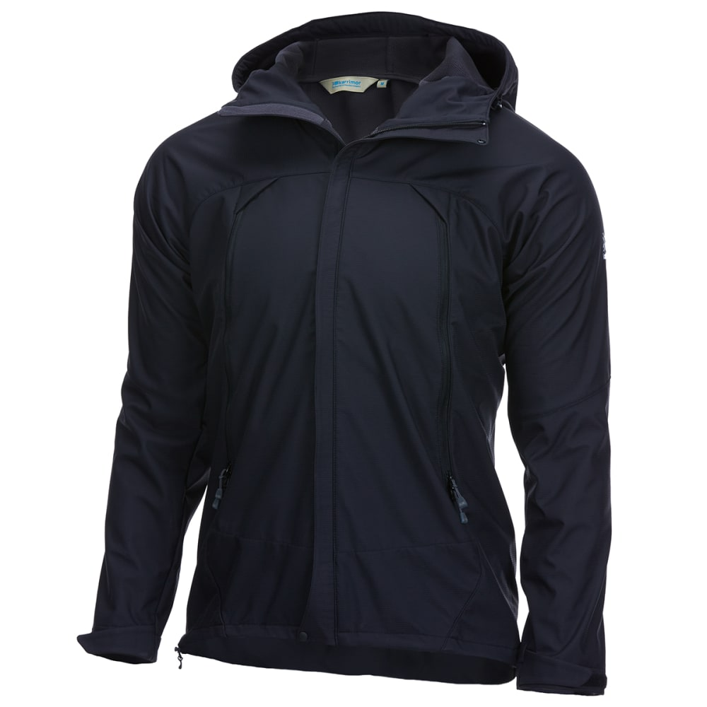 KARRIMOR Men's Arete Hooded Soft Shell Jacket - BLACK