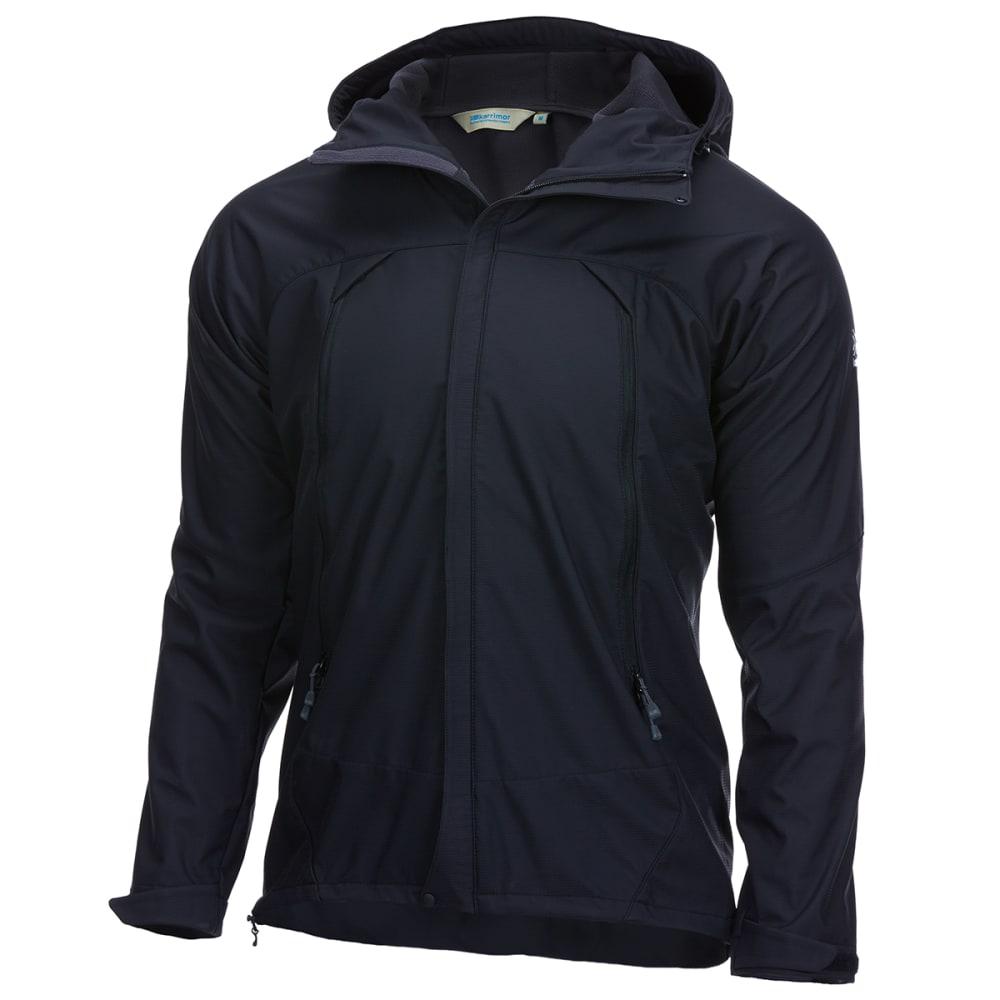 KARRIMOR Men's Arete Hooded Soft Shell Jacket - BLACK