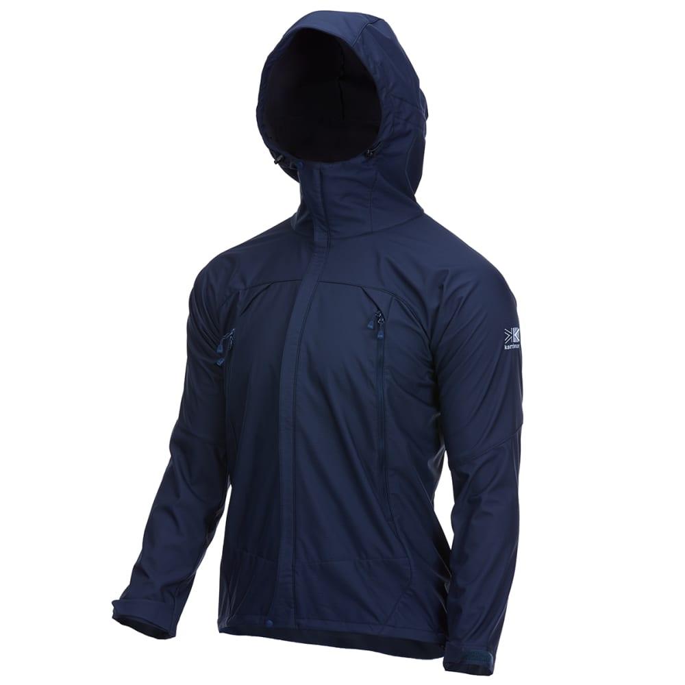 KARRIMOR Men's Arete Hooded Soft Shell Jacket - INDIGO