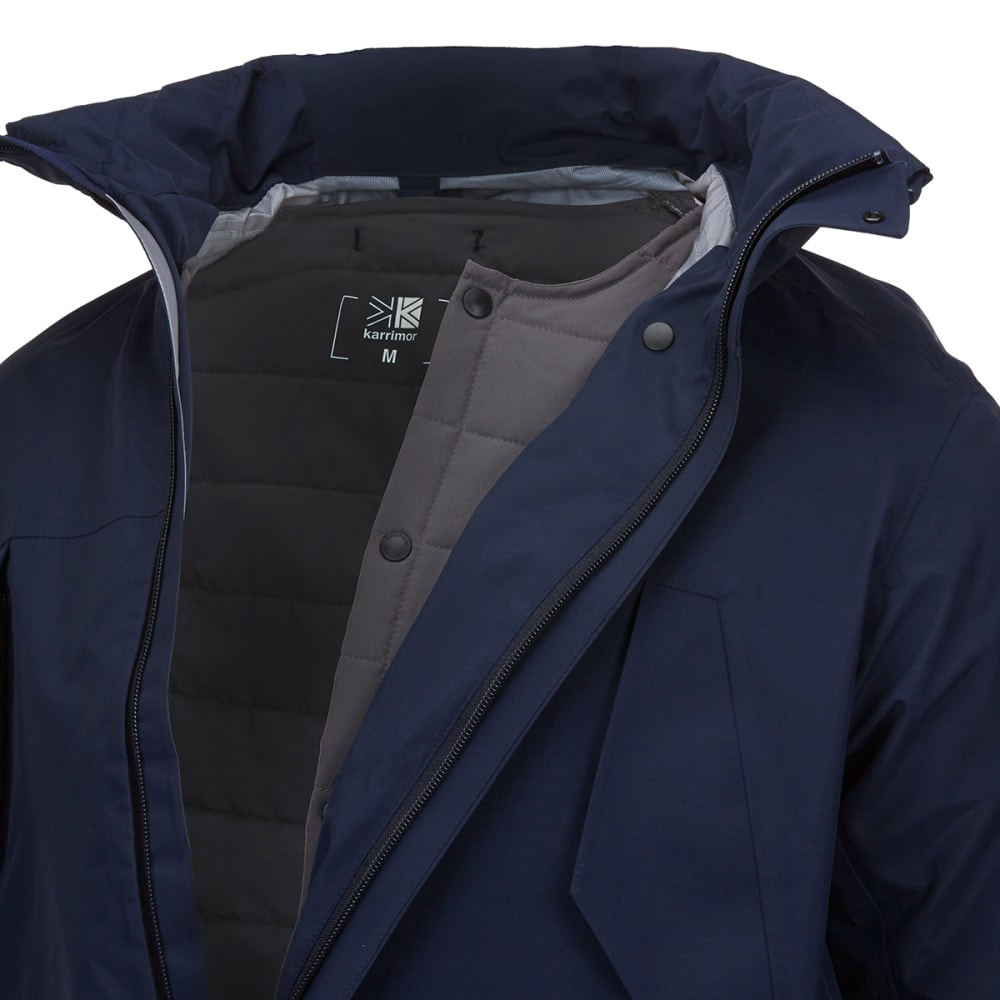 KARRIMOR Men's Pioneer 3-in-1 Jacket - Navy/Bk