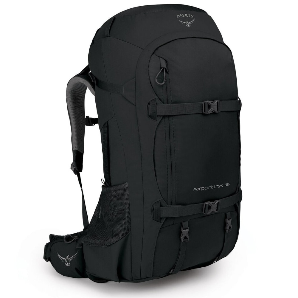 OSPREY Men's Farpoint Trek 55L Travel Pack - BLACK