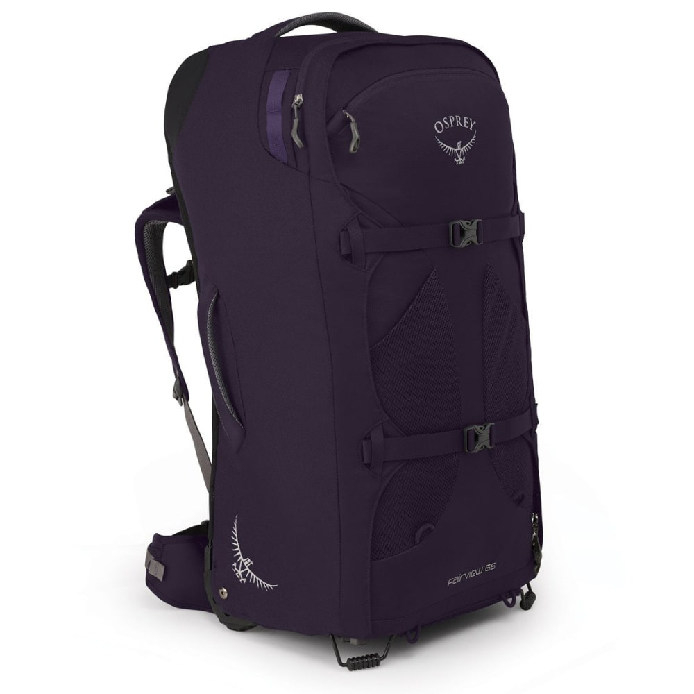 OSPREY Women's Fairview 65 Wheeled Travel Backpack - AMULET PURPLE