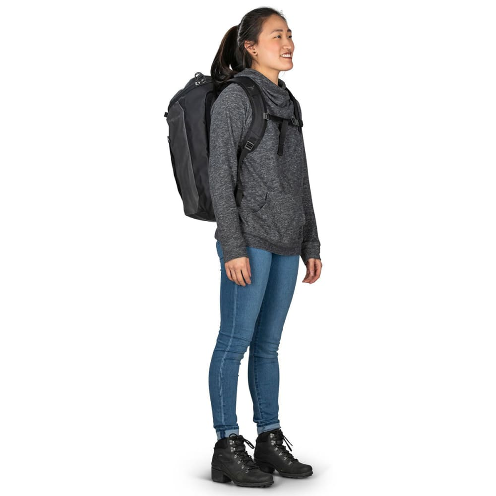 OSPREY Transporter Zip Top Pack - BLACK