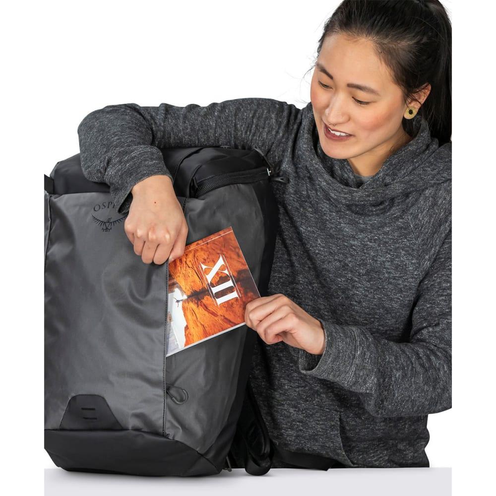 OSPREY Transporter Zip Top Pack - BLACK