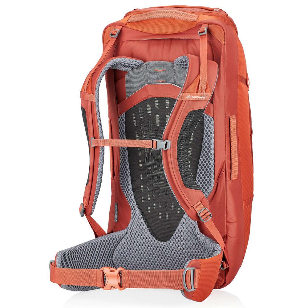 GREGORY Men's Tetrad 60 Backpack - FERROUS ORANGE