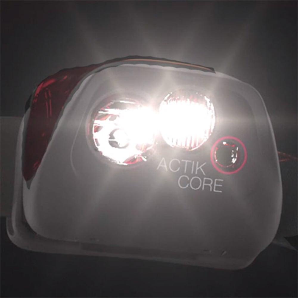 PETZL Actik Core Multi-Beam Headlamp - BLACK