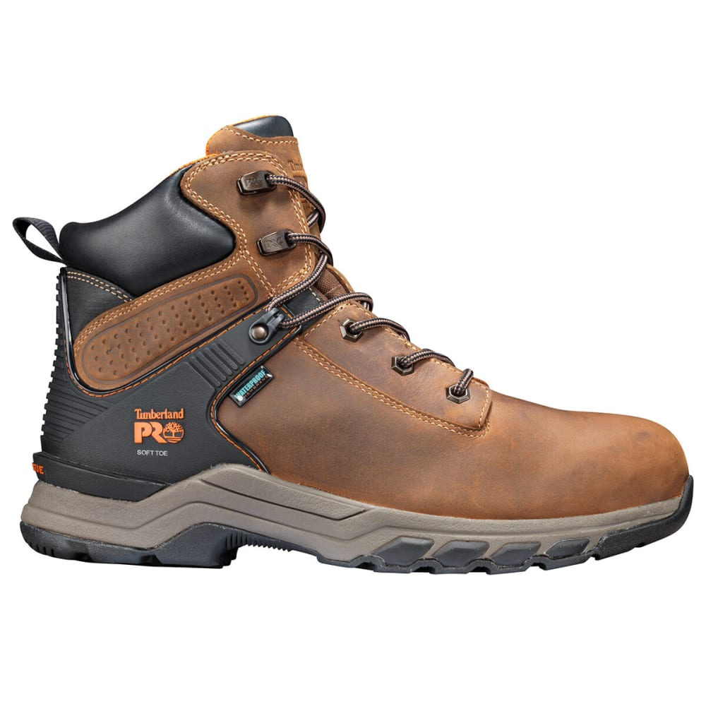 """TIMBERLAND PRO Men's Hypercharge 6"""" Soft Toe Workboot - BROWN 214"""