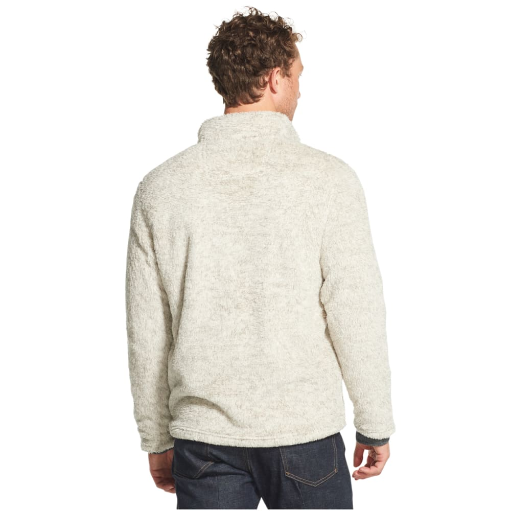ARROW Men's GH Bass Sherpa Melange Quarter Zip Fleece Pullover - MOONSTRUCK-076