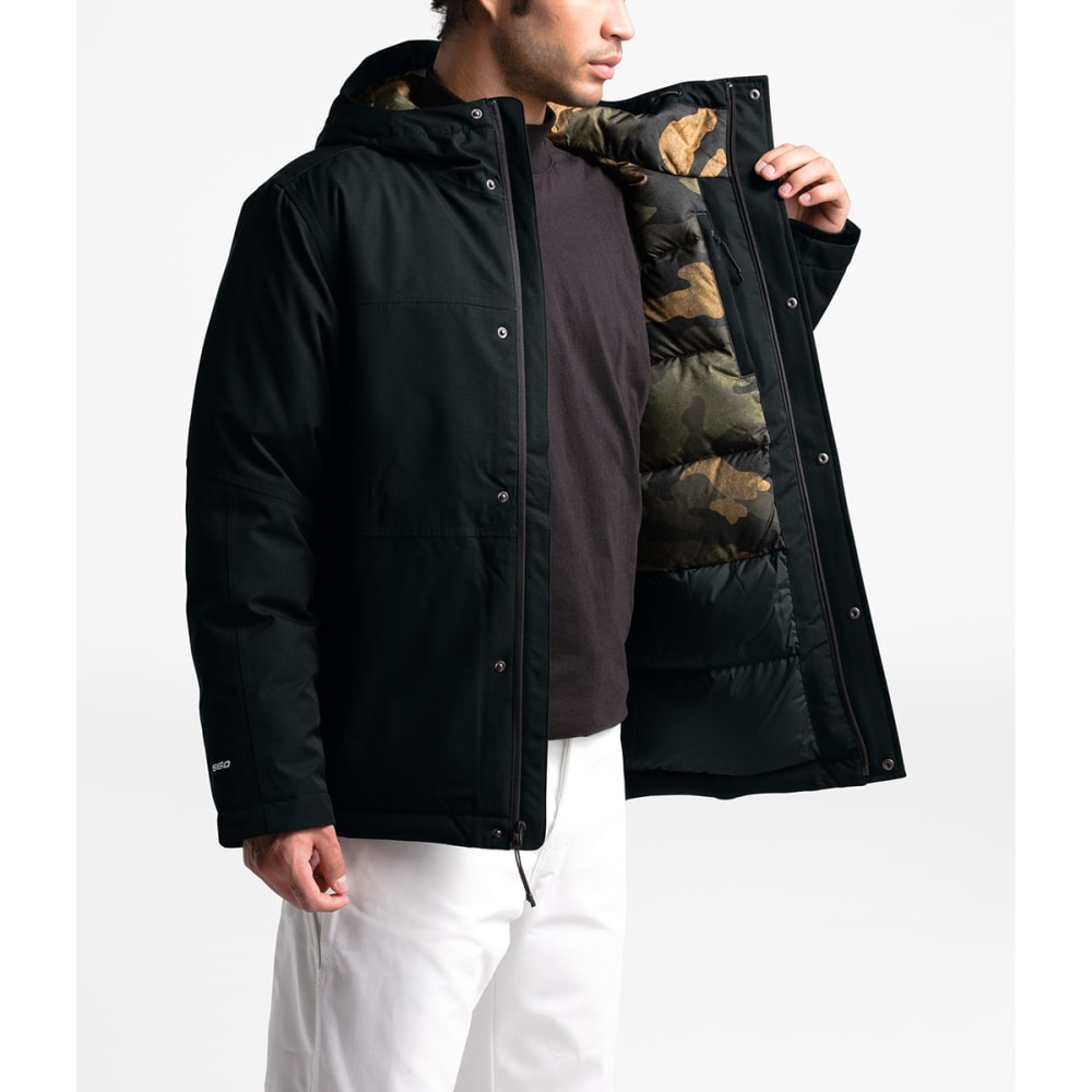 THE NORTH FACE Men's Balham Insulated Jacket - HS9 TNF BLACK