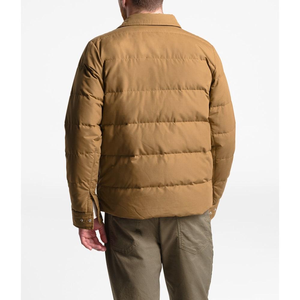 THE NORTH FACE Men's Down Sierra Snap Jacket - WXE CEDAR BROWN