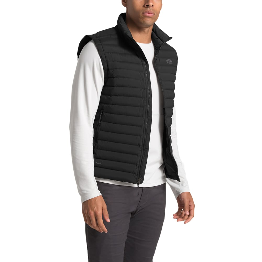 THE NORTH FACE Men's Stretch Down Vest - JK3 BLACK