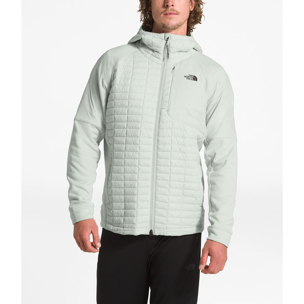 THE NORTH FACE Men's Thermoball Eco Flash Hoodie - 9B8 TIN GREY