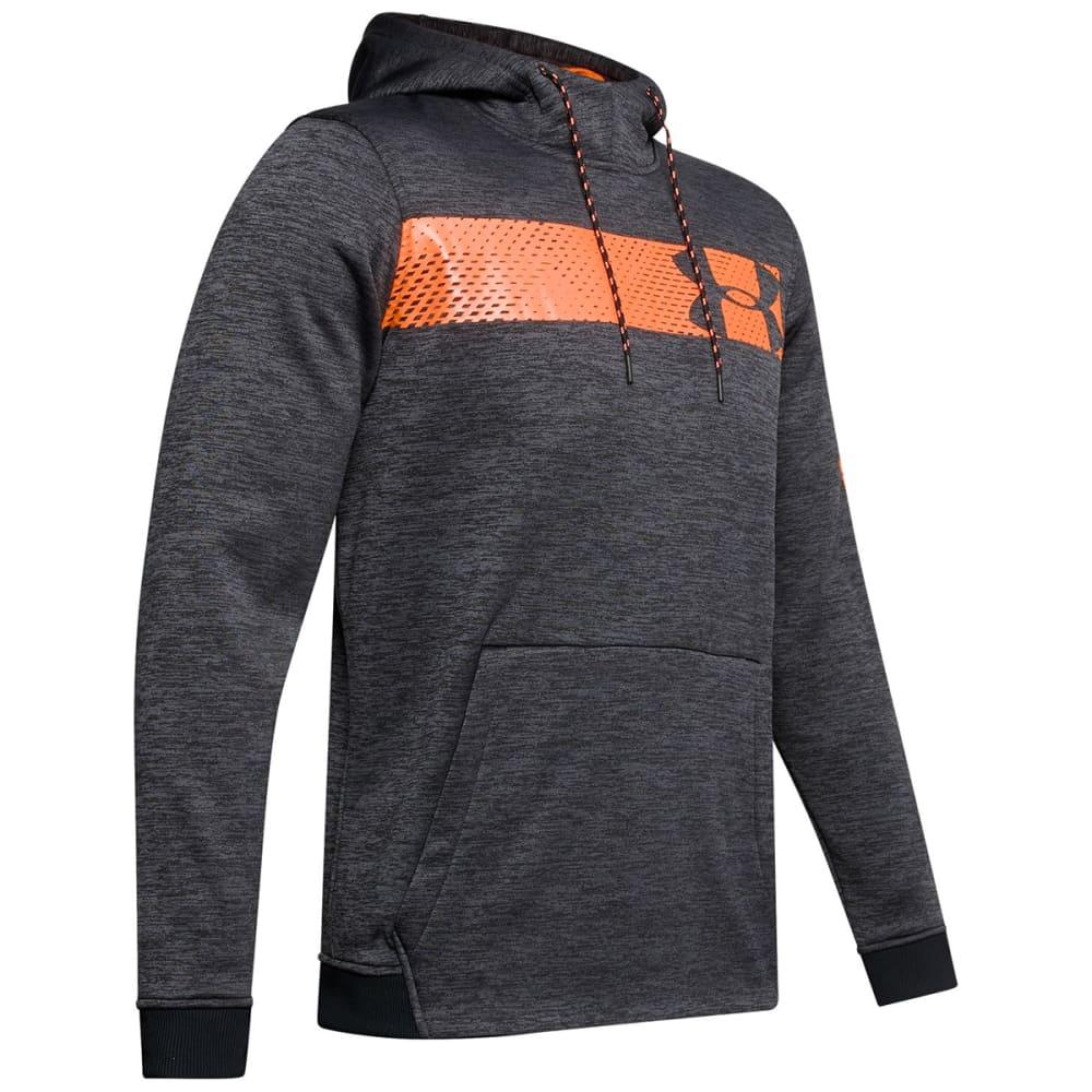 UNDER ARMOUR Men' Bar Logo Pullover Hoodie M