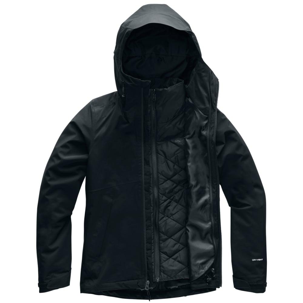 THE NORTH FACE Women's Carto Triclimate Jacket - JK3-TNF BLACK