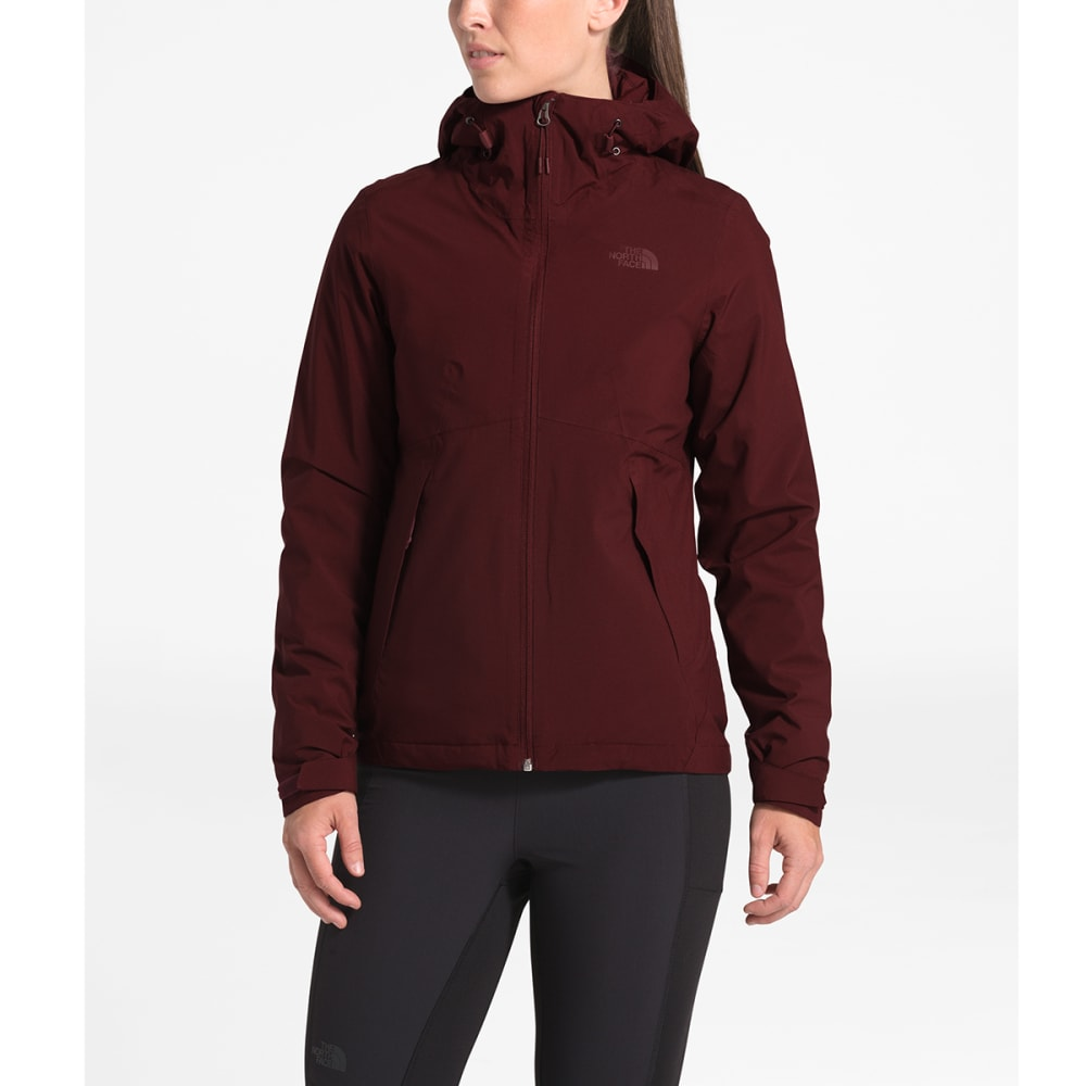 THE NORTH FACE Women's Carto Triclimate Jacket - HBM DEEP GARNET RED