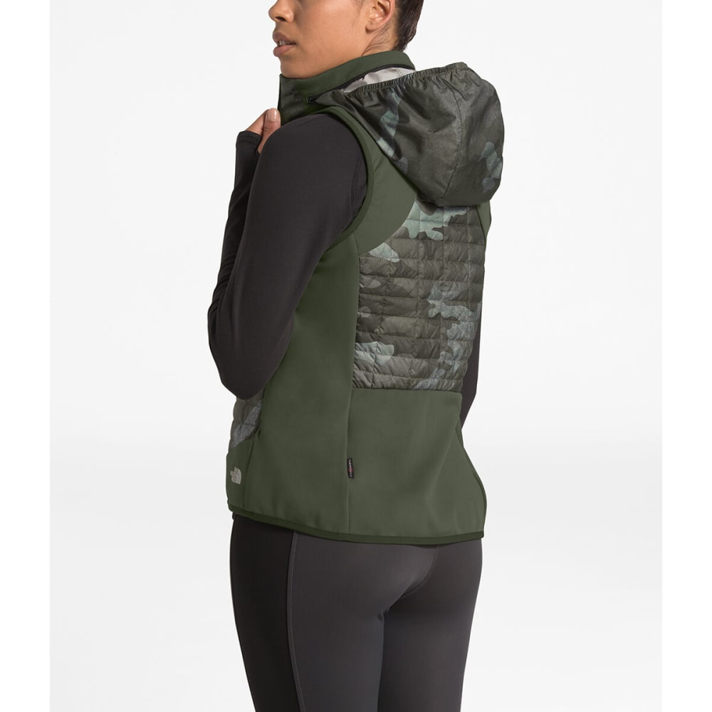 THE NORTH FACE Women's Thermoball Hybrid Vest - HN4 NEW TAUPE GREEN