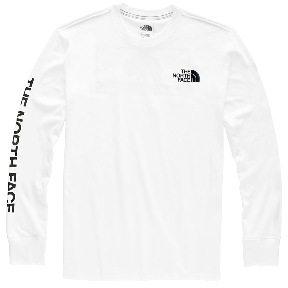 THE NORTH FACE Men's Bottle Source Long-Sleeve Tee - FN4 TNF WHITE