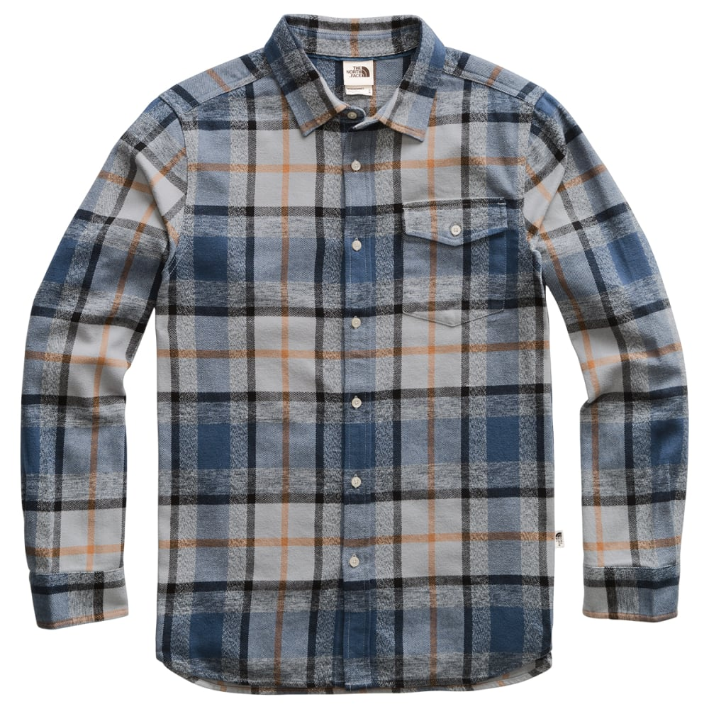 THE NORTH FACE Men's Arroyo Flannel Shirt - GE4 MID GREY SPEED W
