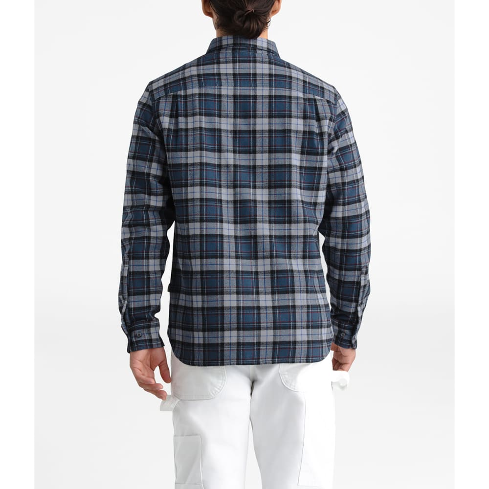 THE NORTH FACE Men's Arroyo Flannel Shirt - HJS BLUE WING TEAL R