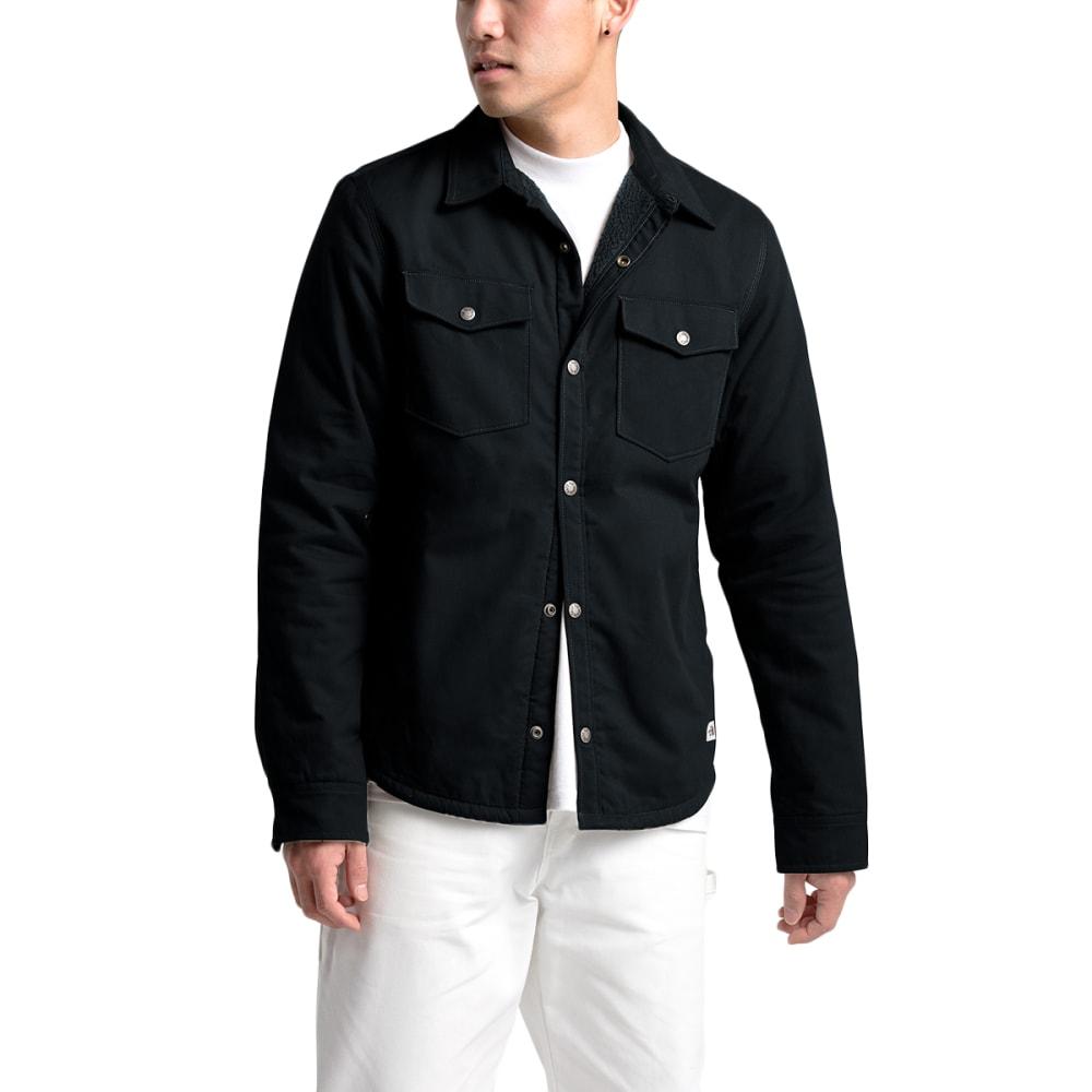 THE NORTH FACE Men's Campshire Long-Sleeve Shirt - JK3 TNF BLACK
