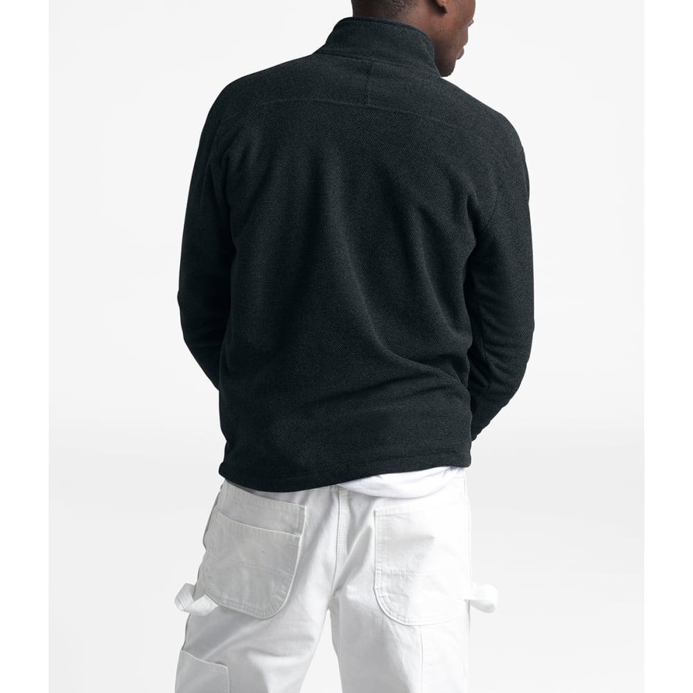 THE NORTH FACE Men's Textured Cap Rock 1/4-Zip Fleece - JK3 TNF BLACK