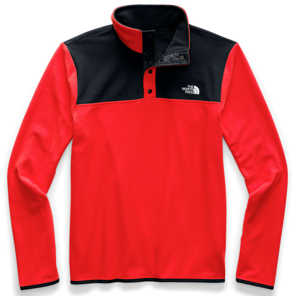THE NORTH FACE Men's Glacier 1/4 Snap Pullover S