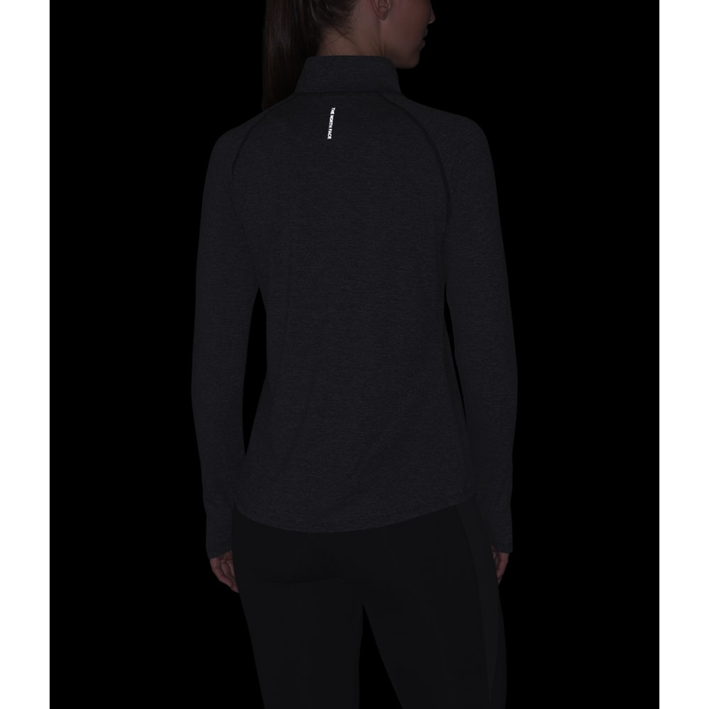 THE NORTH FACE Women's Essential 1/4 Zip Pullover - 5FR TNF BLACK MICRO