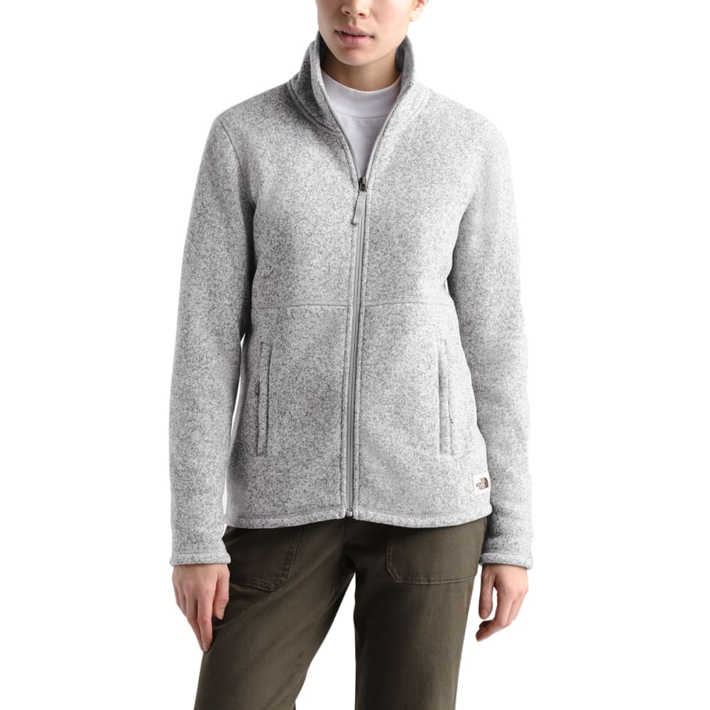 THE NORTH FACE Women's Crescent Full-Zip Jacket - DYX TNF LT GRY HEATH