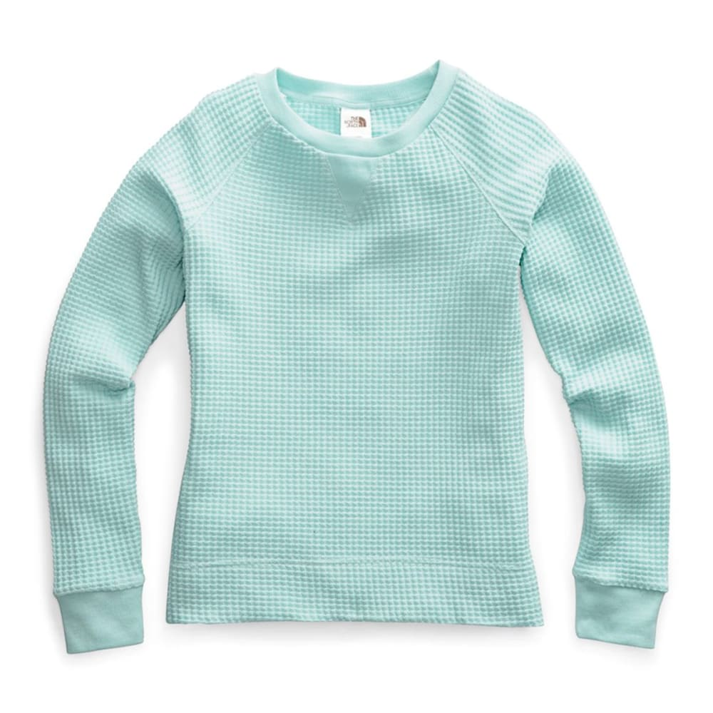 THE NORTH FACE Women's Long-Sleeve Chabot Crewneck Shirt - RT5 WINDMILL BLUE