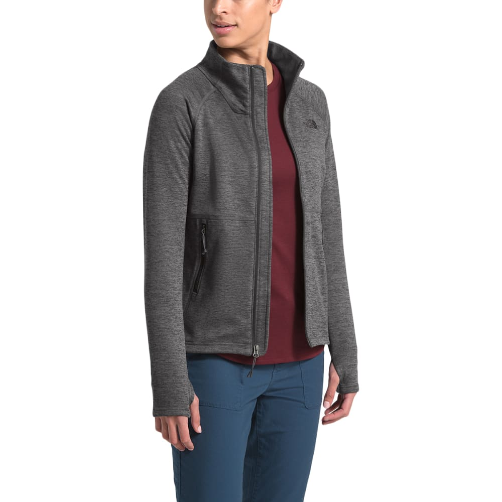 THE NORTH FACE Women's Canyonlands Full Zip Fleece - DYZ TNF DARK GREY