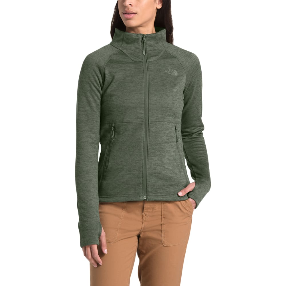 THE NORTH FACE Women's Canyonlands Full Zip Fleece - 7D0 NEW TAUPE GRN HT