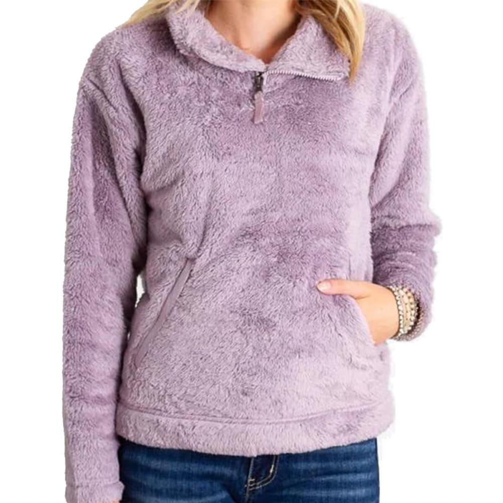 THE NORTH FACE Women's Furry Fleece Pullover - D2Q ASHEN PURPLE