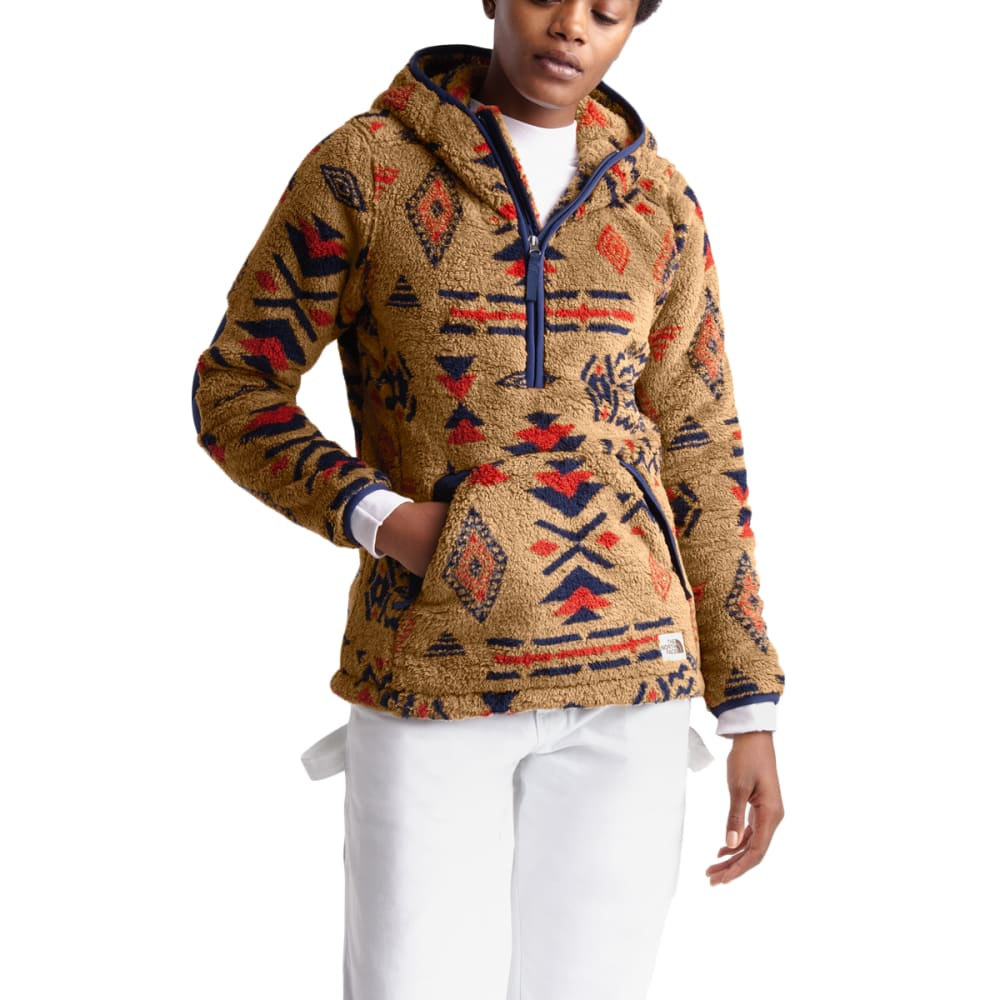 THE NORTH FACE Women's Campshire Pullover 2.0 Hoodie - FR9 CEDAR BRWN CA GE