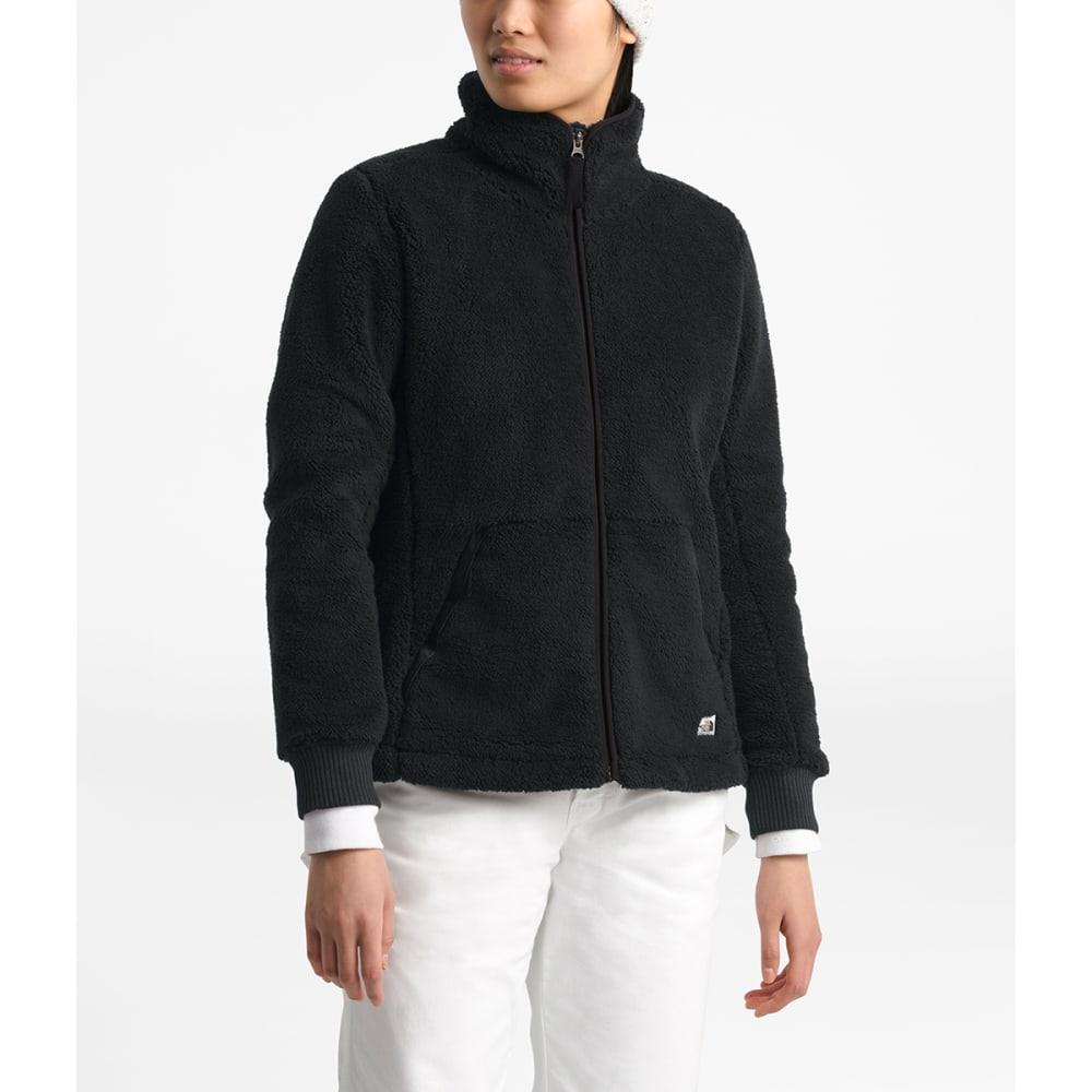 THE NORTH FACE Women's Campshire Full-Zip Jacket - JK3 TNF BLACK