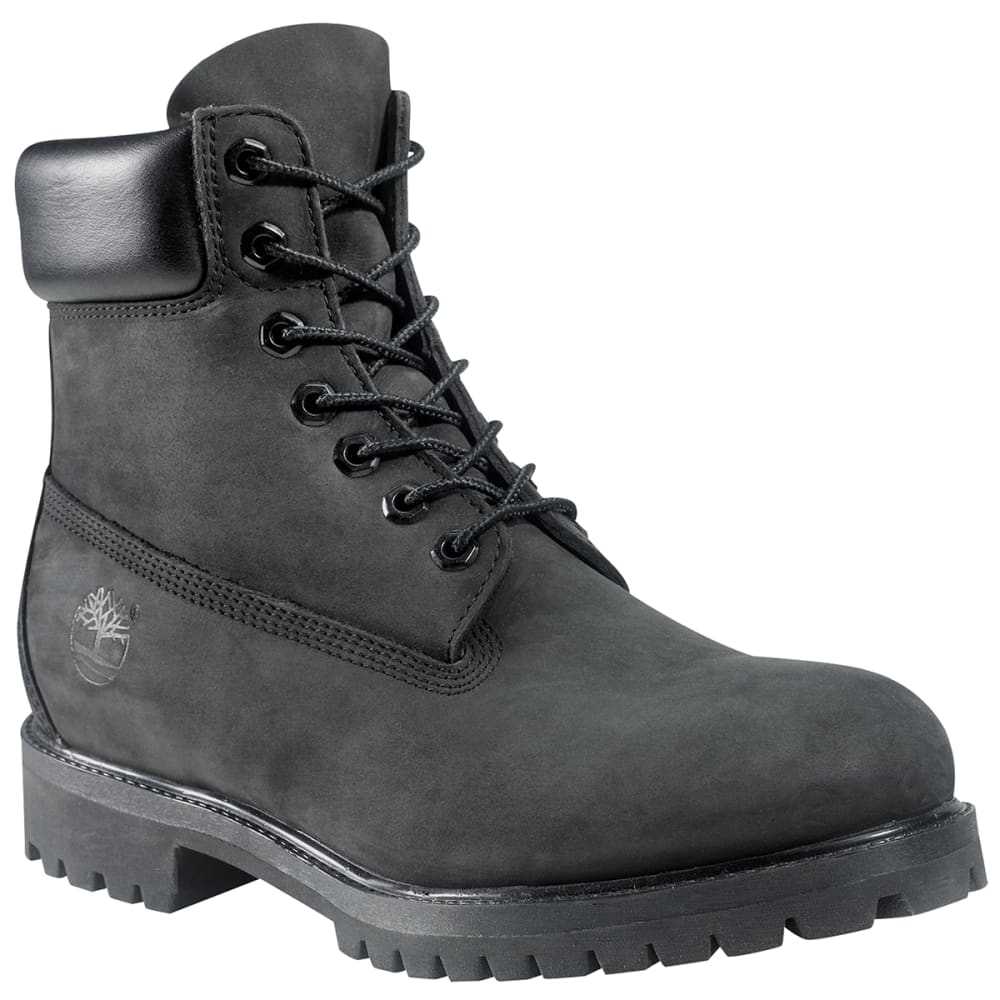 "TIMBERLAND Men's 6"" Premium Waterproof Boot - BLACK"