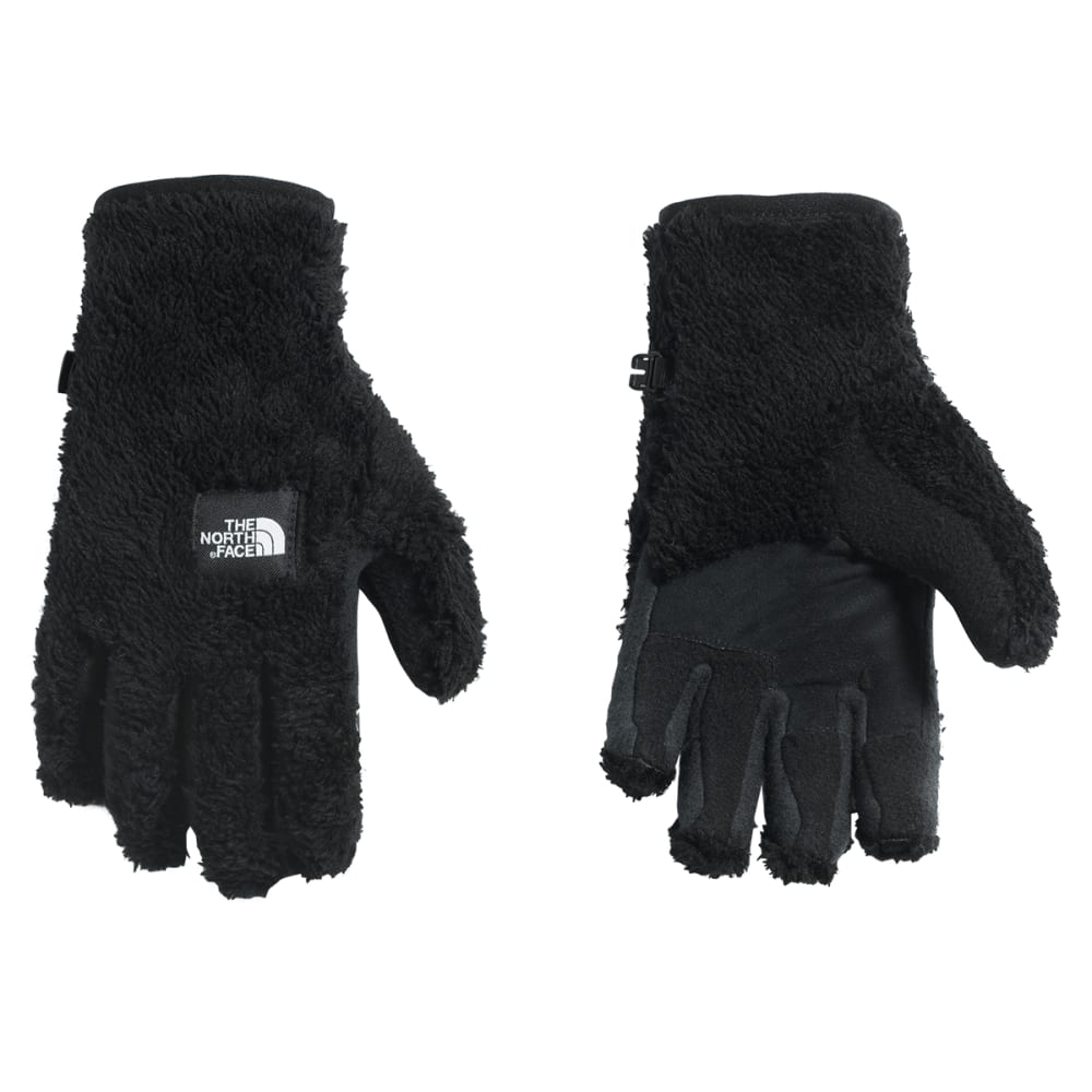 THE NORTH FACE Women's Furry Fleece Etip Gloves - JK3-TNF BLACK