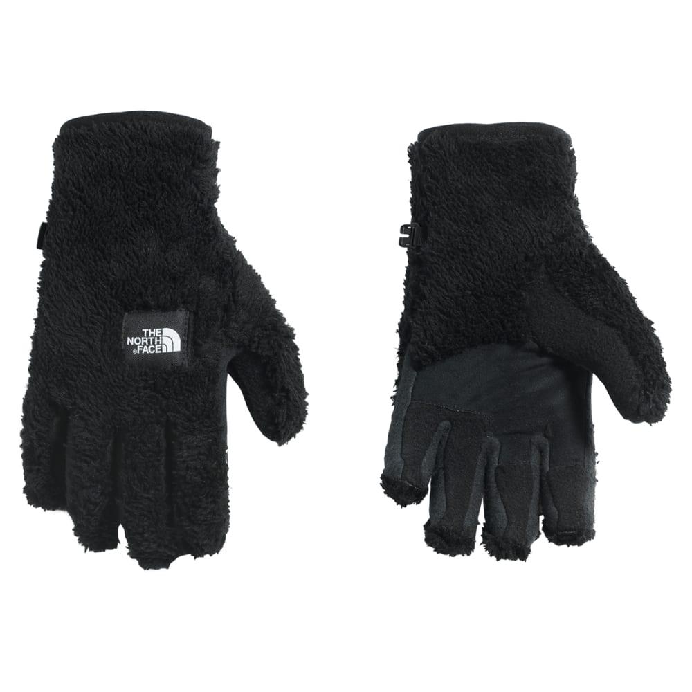 THE NORTH FACE Women's Furry Fleece Etip Gloves - JK3-TNF BLACK