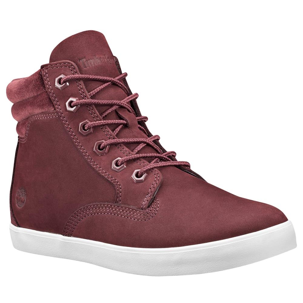TIMBERLAND Women's Dausette Sneaker Boot - BURGUNDY