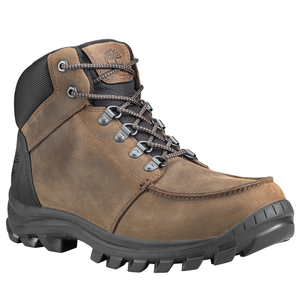 TIMBERLAND Men's Snowblades Insulated Mid Waterproof Winter Boots - DK BROWN
