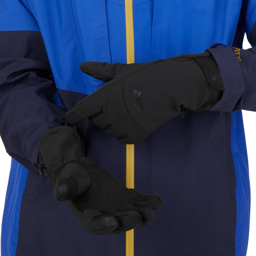 OUTDOOR RESEARCH Men's Inception Aerogel Gloves - BLACK - 0001