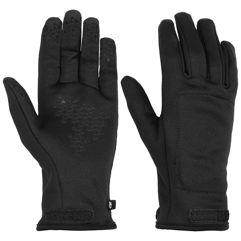 OUTDOOR RESEARCH Men's Arete Gloves - BLK/CHAR-0189